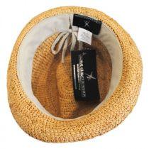 Malia Raffia Straw Fedora Hat in
