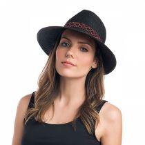 Regent Toyo Straw Fedora Cloche Hat in