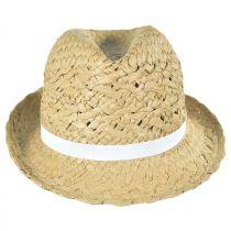 Cabo Toyo Straw Fedora Hat alternate view 6