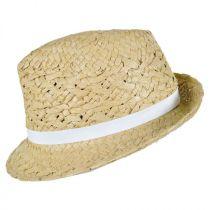 Cabo Toyo Straw Fedora Hat alternate view 7