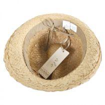 Cabo Toyo Straw Fedora Hat alternate view 8