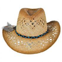 Coronado Raffia Straw Cowboy Hat alternate view 2
