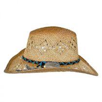 Coronado Raffia Straw Cowboy Hat alternate view 3