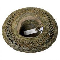 Lechuza Raffia Straw Floppy Hat in