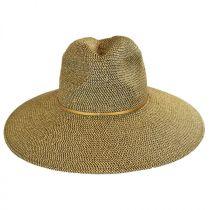 Sancho Toyo Straw Fedora Hat in