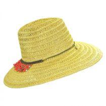 Garapoba Straw Fedora Hat alternate view 3