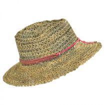 Trancoso Seagrass Straw Fedora Hat in