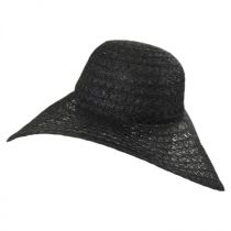 Chantilly Lace Toyo Straw Floppy Swinger Hat alternate view 3