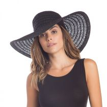 Chantilly Lace Toyo Straw Floppy Swinger Hat alternate view 5