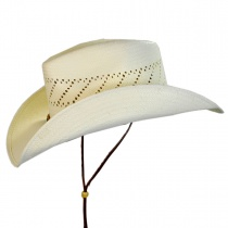 Santa Fe Shantung Straw Cowboy Hat alternate view 11