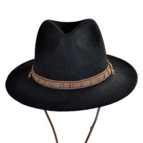 Leather Chinstrap Wool Felt Safari Hat alternate view 2