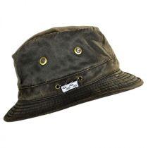 Weathered Cotton Hiker Bucket Hat in