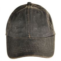 Weathered Cotton Lo Pro Strapback Baseball Cap Dad Hat in
