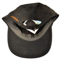 Oilskin Cotton Lo Pro Strapback Baseball Cap Dad Hat in