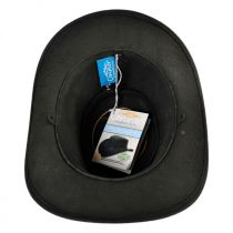 Oiled Leather Outback Hat in