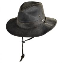 Weathered Cotton Outback Hat in