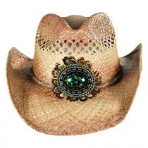 Navajo Bead and Feather Western Hat alternate view 2