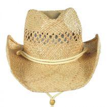 Kids' Coby Raffia Straw Western Hat alternate view 3