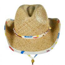 Kids' Lil Bronco Straw Cowboy Hat alternate view 2