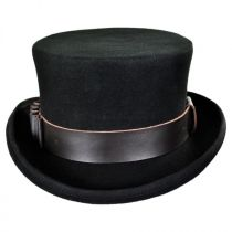 Time Travel Steampunk Wool Felt Top Hat in