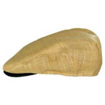 St. George Walker Raffia Straw Ivy Cap in