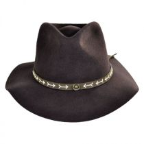 Mt. Warning Arrow Band Wool Felt Outback Hat in
