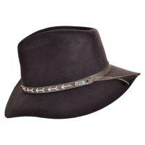 Mt. Warning Arrow Band Wool Felt Outback Hat alternate view 7
