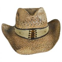 Easy Going Straw Western Hat alternate view 2