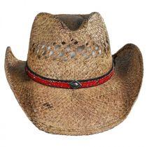 Talledega Straw Western Hat in