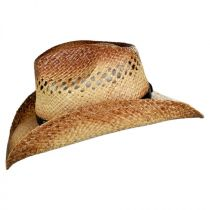 Route 66 Raffia Straw Cowboy Hat in
