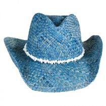 Bronco Beach Raffia Straw Western Hat alternate view 2