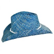 Bronco Beach Raffia Straw Western Hat alternate view 3