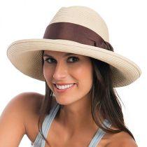 Adriana Toyo Straw Fedora Hat alternate view 17