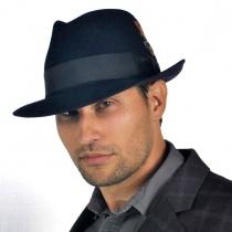 Saxon Royal Fur Felt Fedora Hat