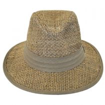 Seagrass Straw Safari Fedora Hat alternate view 2