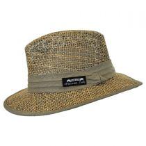 Seagrass Straw Safari Fedora Hat alternate view 3