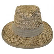 Seagrass Straw Safari Fedora Hat alternate view 10