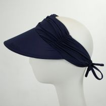 Ruched Fabric Pool Visor alternate view 6