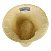 Kids' Palm Tree Band Toyo Straw Fedora Hat in