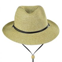Kids' Chincord Toyo Straw Fedora Hat in