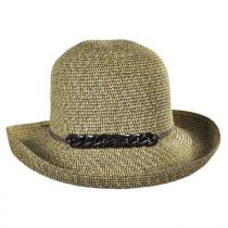 Shell Chain Toyo Straw Kettle Brim Sun Hat alternate view 2