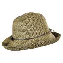Shell Chain Toyo Straw Kettle Brim Sun Hat alternate view 3