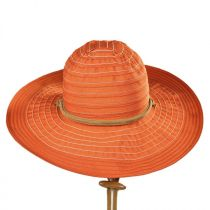 Ribbon Floppy Chincord Sun Hat in