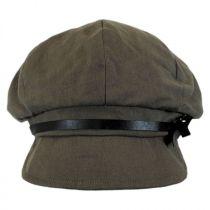 Paris Linen and Cotton Casquette Cap in