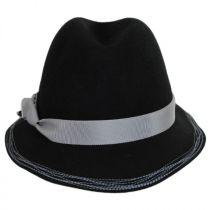 Inspector Wool Felt Fedora Hat in