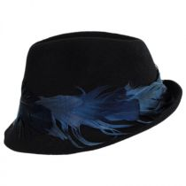 Plume Wool Felt Fedora Hat in