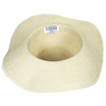 Santa Fe Toyo Straw Floppy Sun Hat alternate view 4