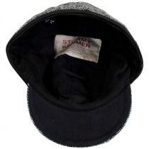 Harris Tweed Wool Button Up Cap alternate view 5