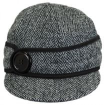 Harris Tweed Wool Button Up Cap alternate view 7