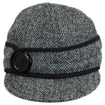 Harris Tweed Wool Button Up Cap alternate view 17